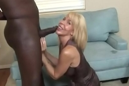 Sexy 58 Domain Aged Erica Lauren Sucking a BBC