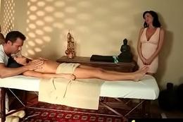 Massage and Gorgeous Lifelike sex 13