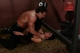 Mahina Zatana &amp_ aggressive muscleman Lee Stone - Rough sex (pt.1)