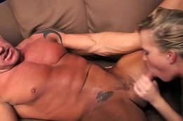 Sasha Knox &amp_ rough muscleman Lee Stone - Very hard making out