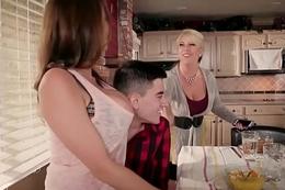 Brazzers - Mommy Got Boobs - Homemade American Tits instalment starring Ariella Ferrera and Jordi El Ni&amp_a