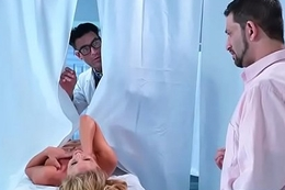 Sex Adventures Between Doctor And Horny Patient (Cherie Deville) video-10