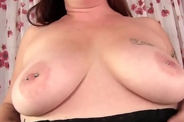 Chunky with a prudish pussy Kailie Raynes uses copulation toys