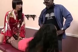 Sallow Girl Spit Roasted By Big Black Flannel 12