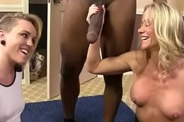 Mom with Obese Bosom acquires Pounded by Black Cock 14