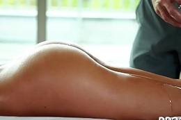 Hot massage more juicy blowjob