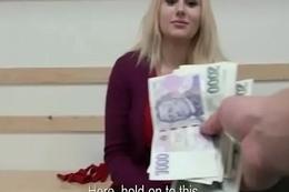 Public Pickups - Amateur Teen SLut Fucks For Finances Outdoor 05