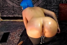 Daddy'_s lil whore enjoying anal, dp and fisting