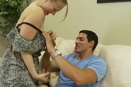 Legal age teenager beauty fucked after their way busty stepmom