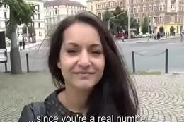 Public Dick Sucking With European SLut For Initial 20