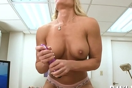 Sexy mother i'_d like to fuck grinds on stiff pecker