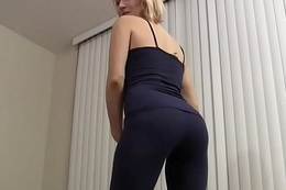 My yoga always makes your cock as a result hard JOI