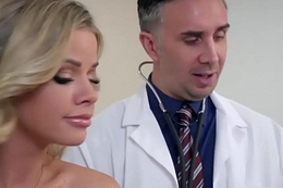 Brazzers - Doctor Adventures - A Dose Of Cock For Co-Ed Blues scene starring Jessa Rhodes increased by Keiran