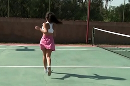 Brazzers - Big Tits In Sports - Playing with my Tennis Balls scene starring Yurizan Beltran with the addition of Jord