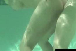 Blonde Milf Charlee Chase Does Underwater Sucking &amp_ Fucking!