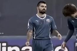 Lances pull off Futebol SOCCER PLAYER Bulge Bulto Mala Pacote Patolada e Pega&ccedil_&atilde_o