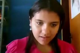 desi cute teen showing on web camera