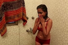 Hot Bathroom Scene - Lal Chhadi Helter-skelter Bathroom