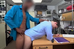 Auditioning whiteboy analized by BBC for cash