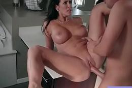Big Round Tits Milf (Reagan Foxx) Like Hard Style Sex mov-21