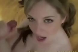 Haley Scott Deepthroats An Average Size Dick