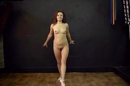 Teen sexy flexible model