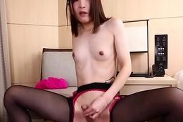 Japanese ladyboy banged meet approval fingerfucking