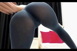 Club ass in leggings