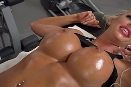 Brazzers - Dirty Masseur - Stress Buster scene starring Courtney Taylor and Keiran Lee