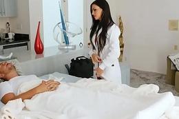 First boy girl scene be useful to hawt MILF nurse Melissa Lynn