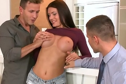 Busty euro buttfucked for ages c in depth sucking cock