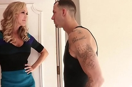 Brazzers - Mommy Got Boobs - Fucking Hammer away Help scene starring Brandi Love and Chris Strokes