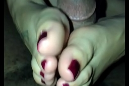 Misnamed My College Friend Over Just For Footjob