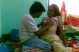 Ghar me akeli saali ki choot li Wait for full vid. on indiansxvideo.com