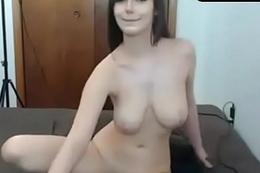 beautiful brunette long masturbation on sexowebcam online