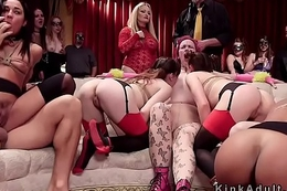 Hotties give thraldom fuckfest fuck and whip