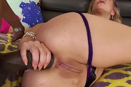 Monster cock anal with Cherrie Deville