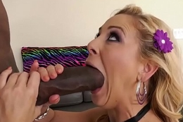 Monster bushwa interracial anal and ass fisting with Cherie Deville