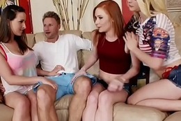 Alli Rae, Alex Tanner &amp_ Ashley Adams Gang Banging Teen FULL VIDEO: goo.gl/B9c7FA
