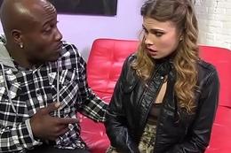 Sasha Limber Prepares For BBC Anal With Wesley