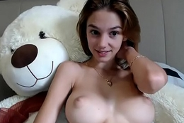 euro teen with pair out chatting - watch more on 34cams.com