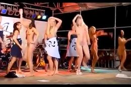 Girls Winking Naked Compilation #1