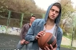 Guys naked outdoor gay Anal Sex Enquire into A Basketball Game!