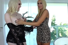 TS Sarina Valentina and Katie Summers