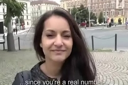 Public Fuck WIth Crestfallen Teen Amateur And Horny Tourist For Cash 20
