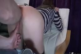 Fisting hoggish juvenile sluts cavernous pussy