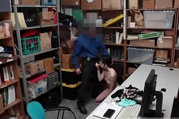 Cop squirt bathroom and blonde ass Suspect was ensnared red handed by