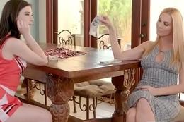 (Sandy Fantasy &amp_ Jenna Reid) Sexy Lesbian Get Marital-device Sex  Punished  Apart from Mean Lez clip-29