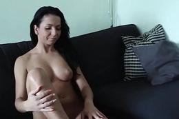 Prostitute gives oral stimulation