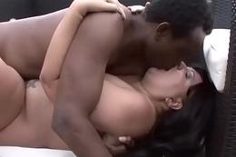 Carmen Carlos Takes A Big Moonless Cock